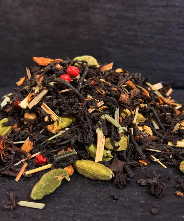 masala chai indiai teakeverék